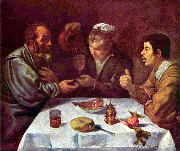 Peasants Having a Meal